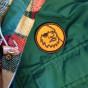 Yeti Head Logo Patch on Jacket
