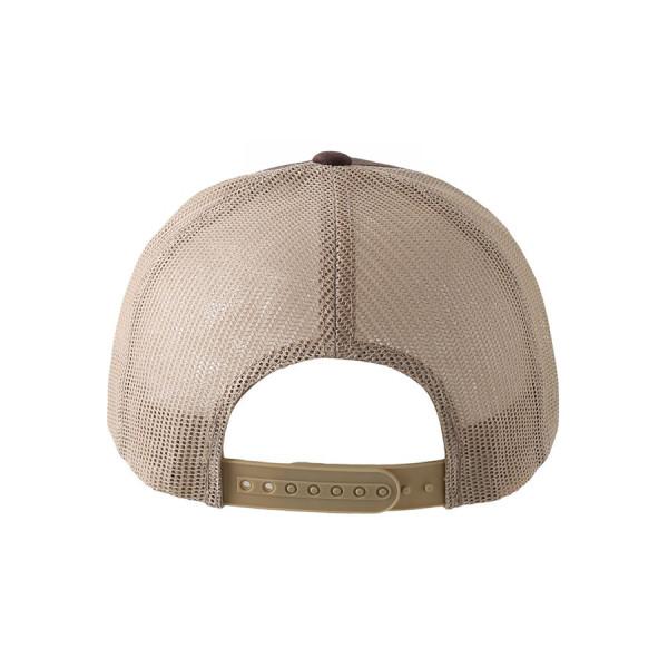 Snapback Yeti Head Hat Back View