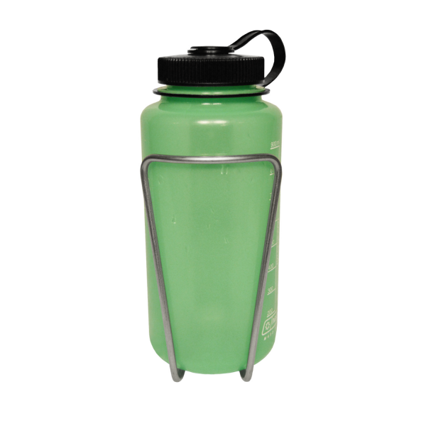 Nalgene Bottle in LiterCage, Front View