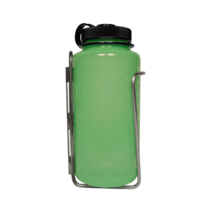 Nalgene bottle in LiterCage side view