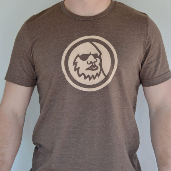 Brown Logo T-Shirt Front